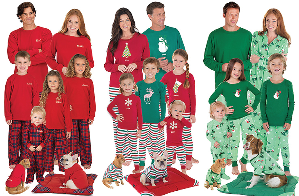 matching family christmas pajamas from pajamagram - Family Pajamas Christmas
