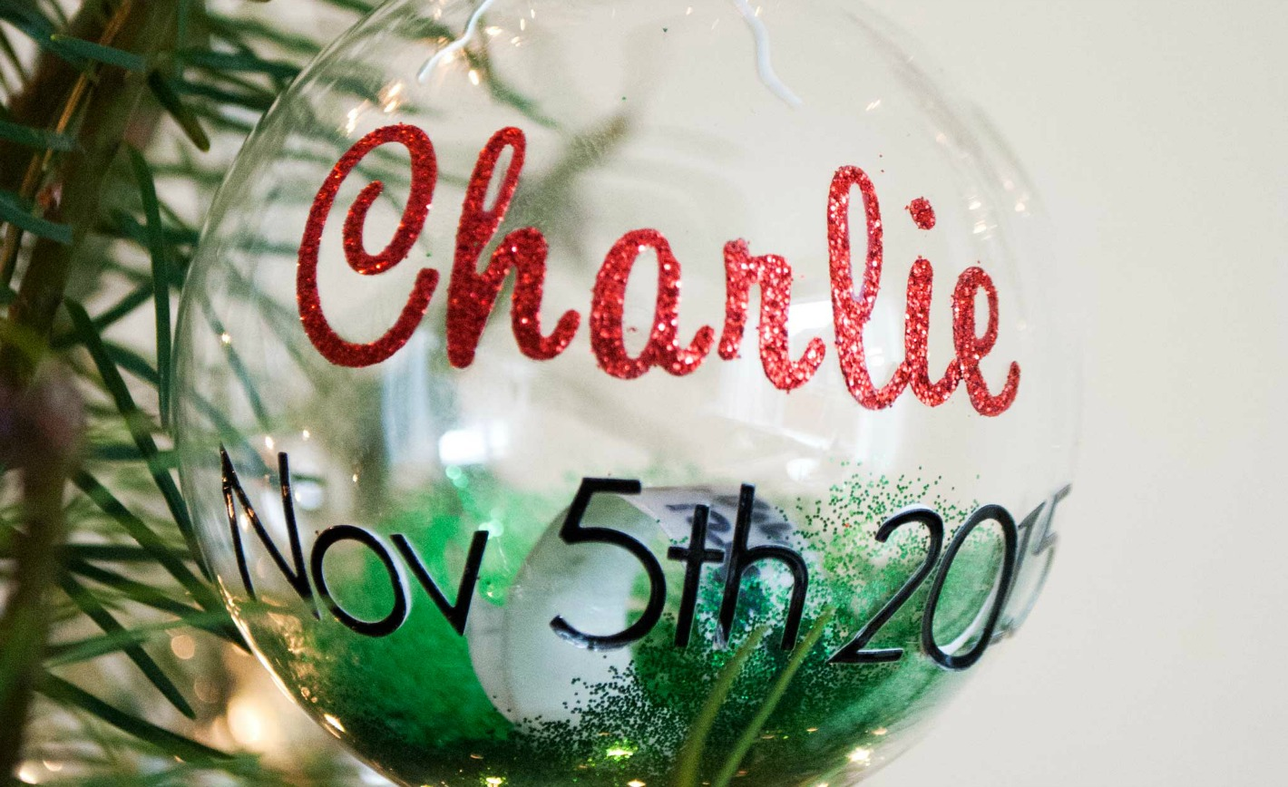 DIY: Keepsake Christmas Ornament for Baby - Project Nursery