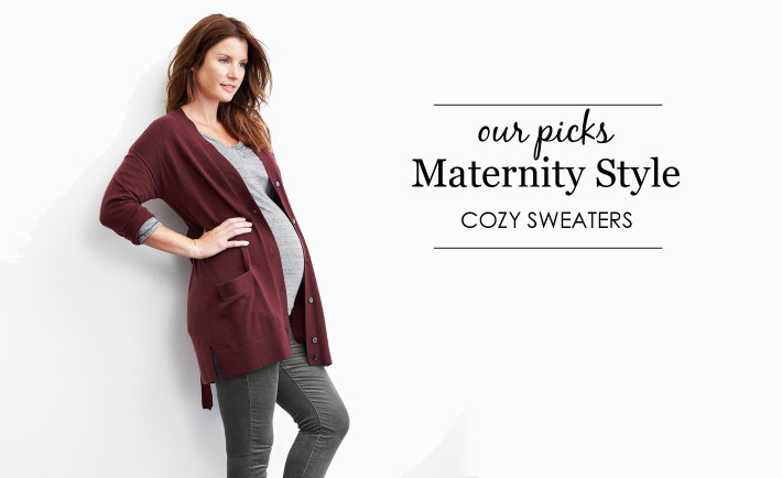 Cozy Maternity Sweaters - Project Nursery