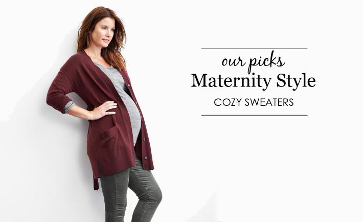 Cozy Maternity Sweaters - Project Nursery