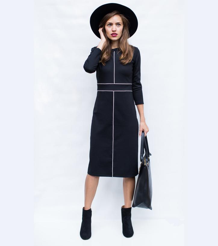Black Dress from Sonnet James