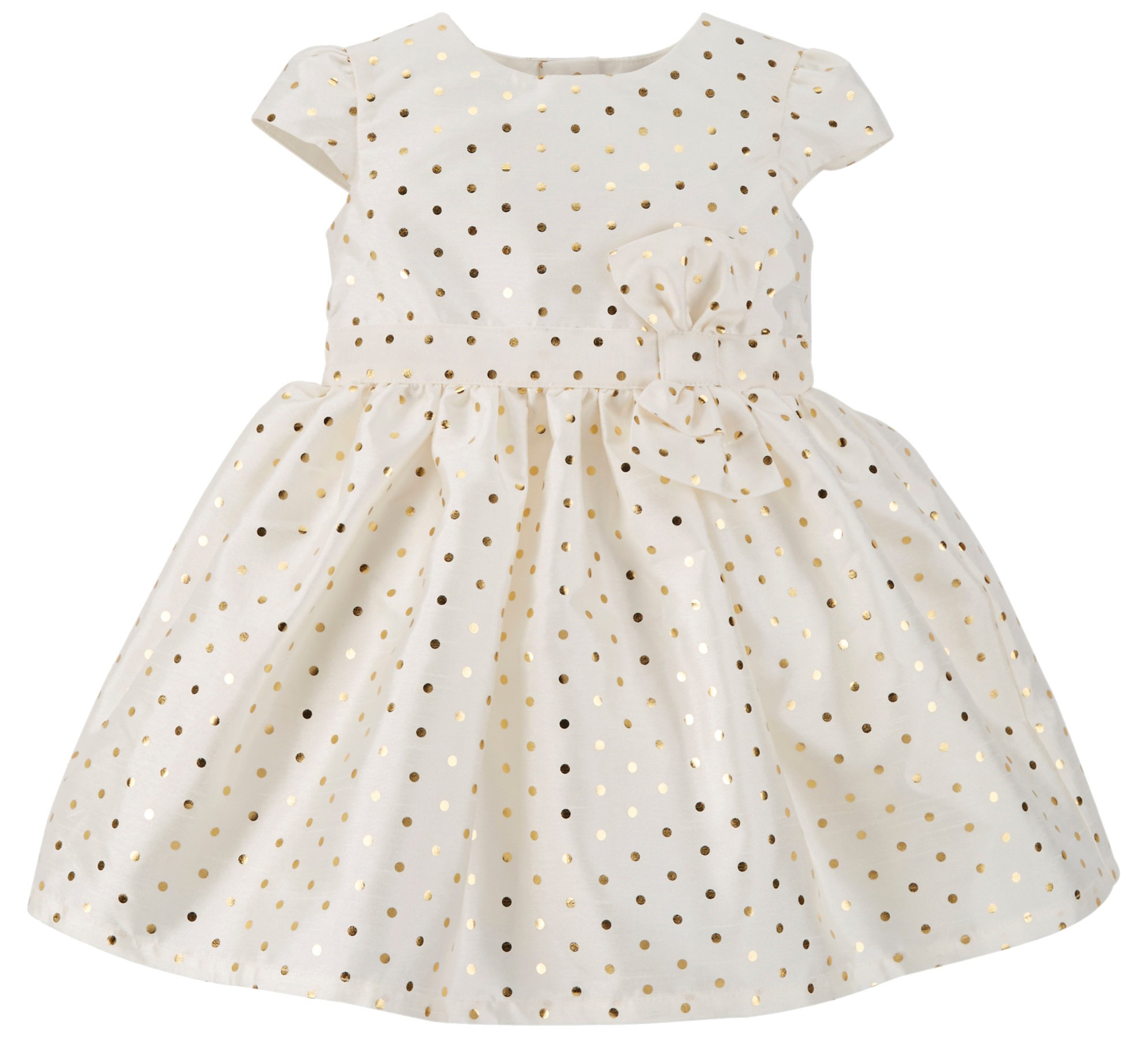 Gold Polka Dot Dress from Target
