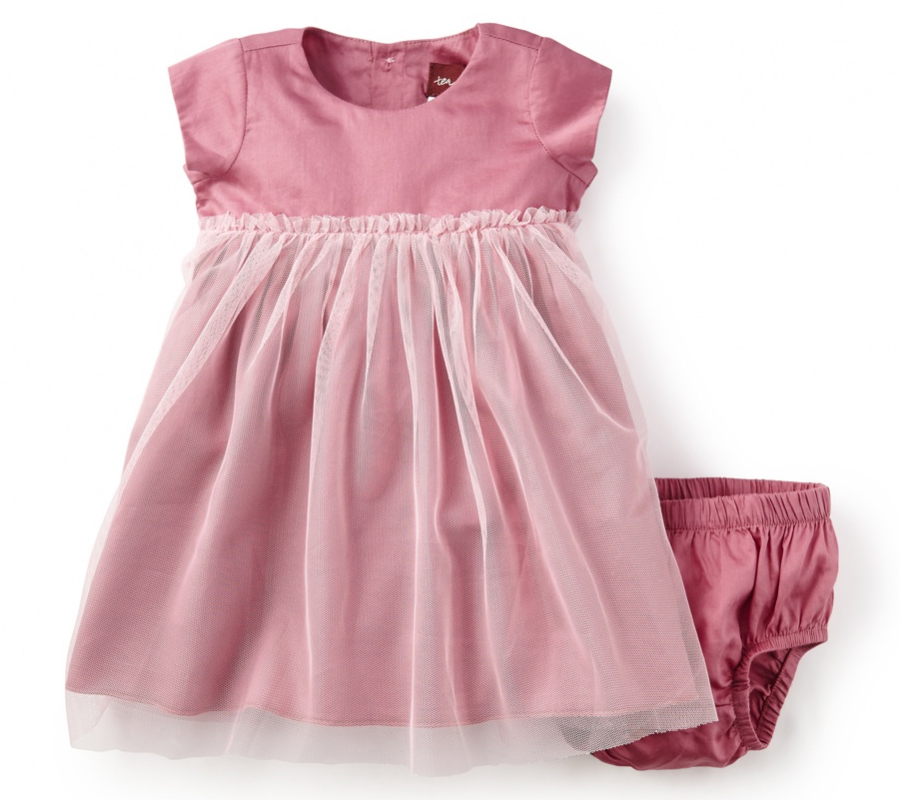 Tulle Skirt Baby Dress from Tea Collection