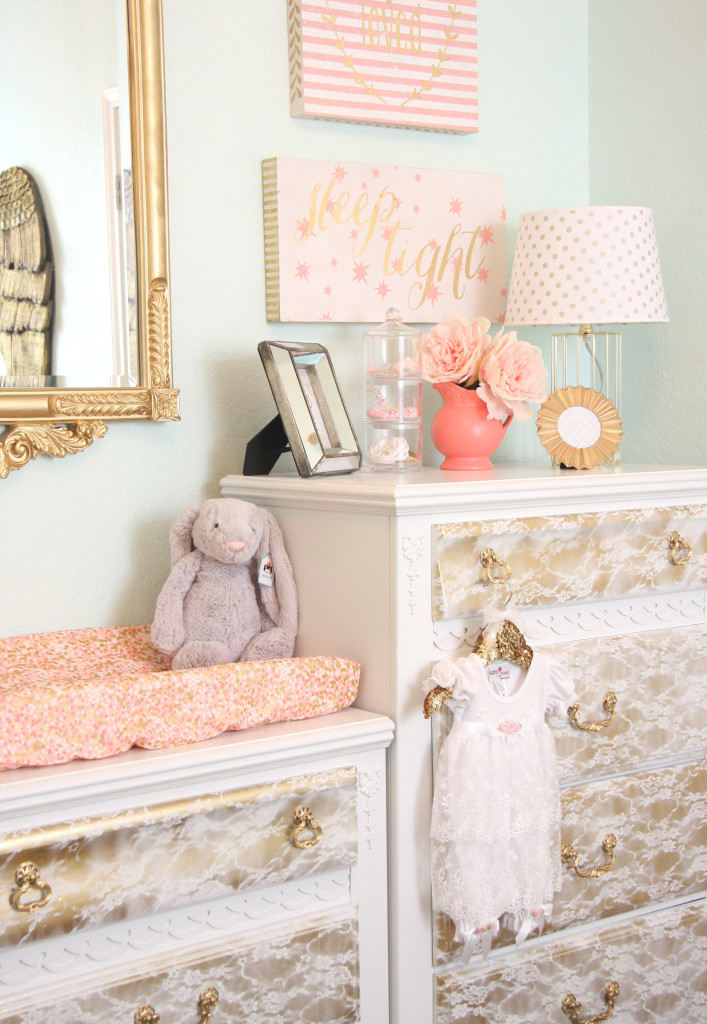 Vintage Lace Inspired Nursery