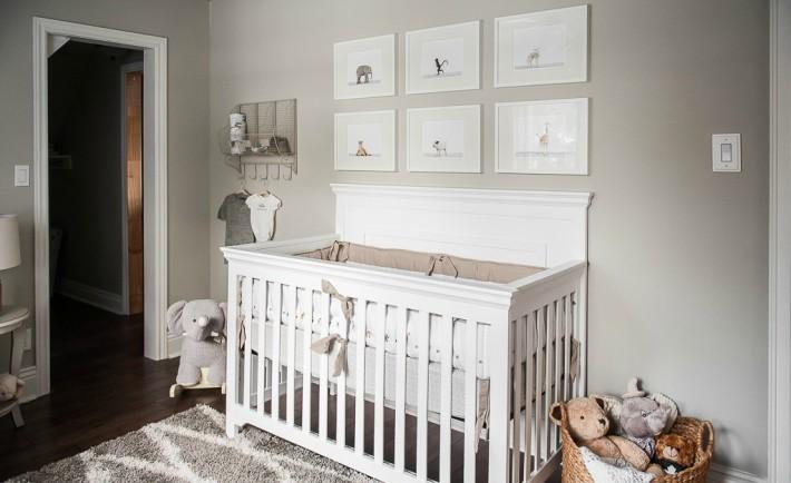 Gray and White Safari Nursery - Project Nursery