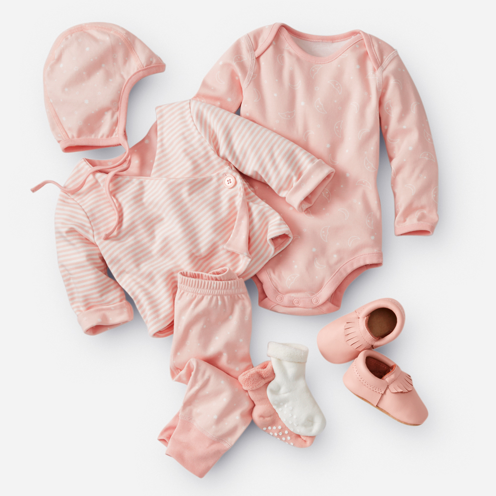 Hanna Andersson Organic Pima Cotton Layette Collection