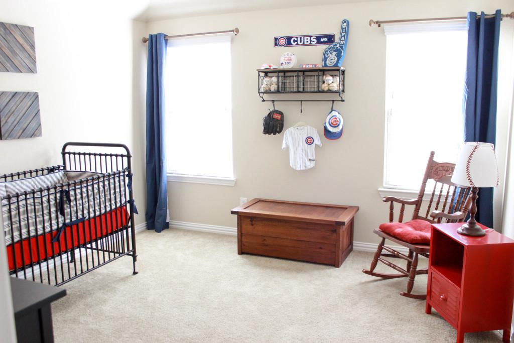 Vintage Baseball Nursery Project Nursery