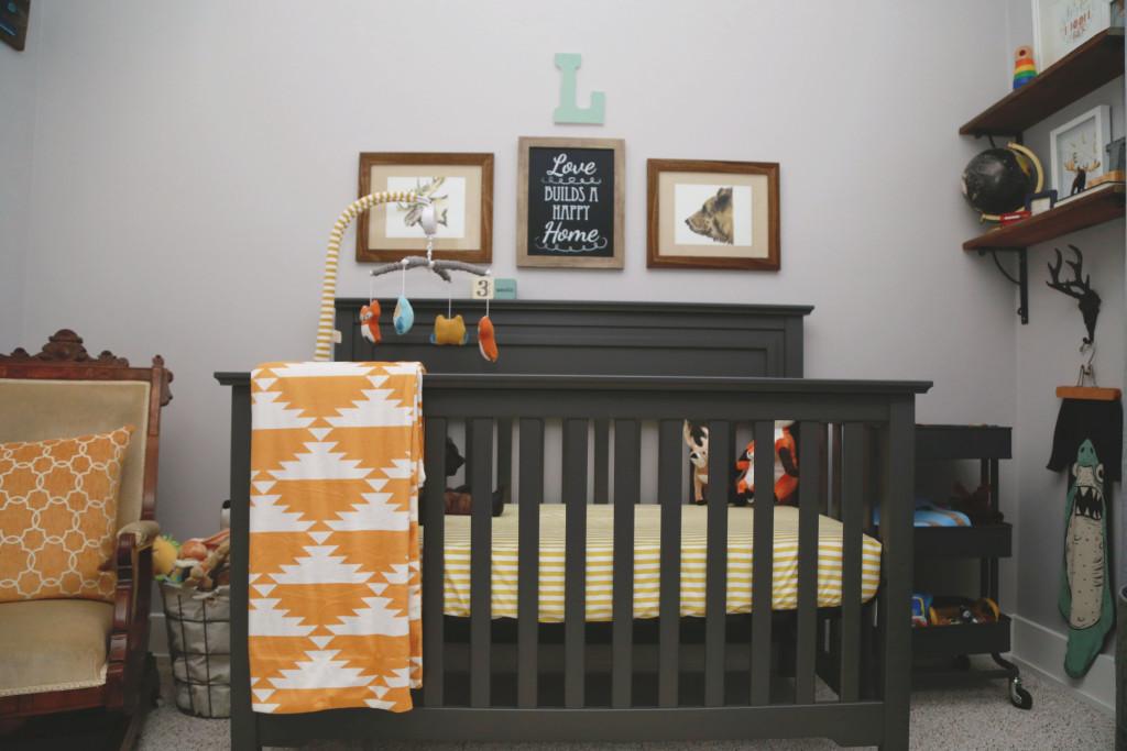 Mustard Yellow Baby Room