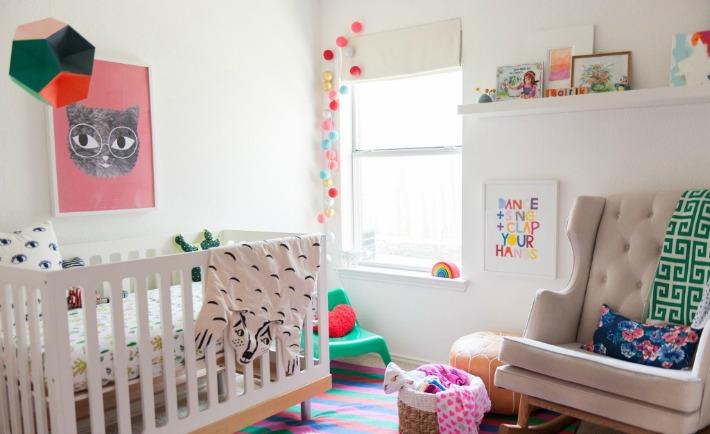 Colorful Modern Bohemian Nursery - Project Nursery