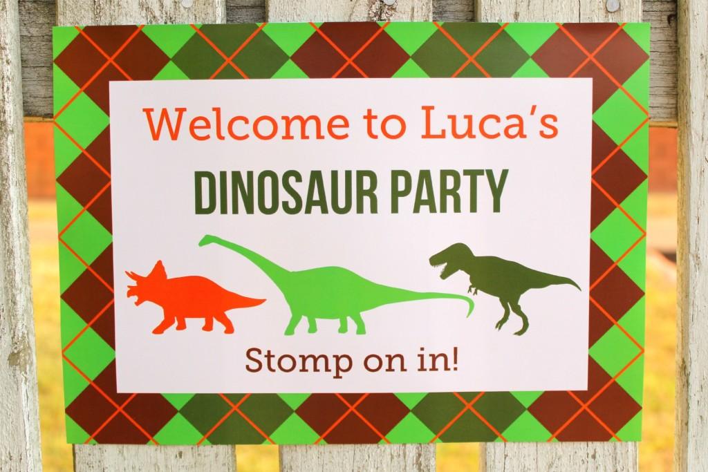 Dino Mite Dinosaur 3rd Birthday Party Project Nursery