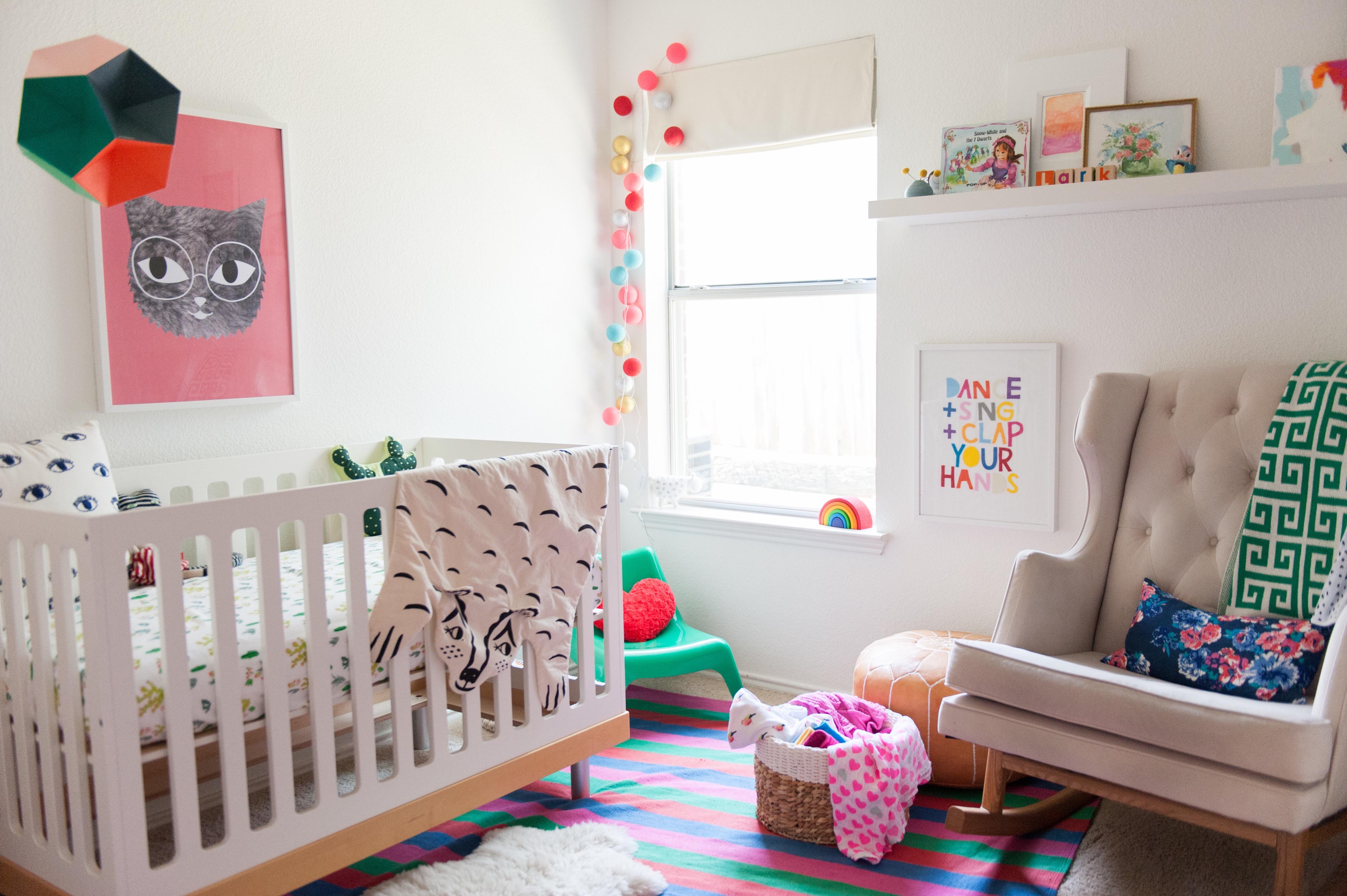 Colorful Bohemian-Modern Nursery