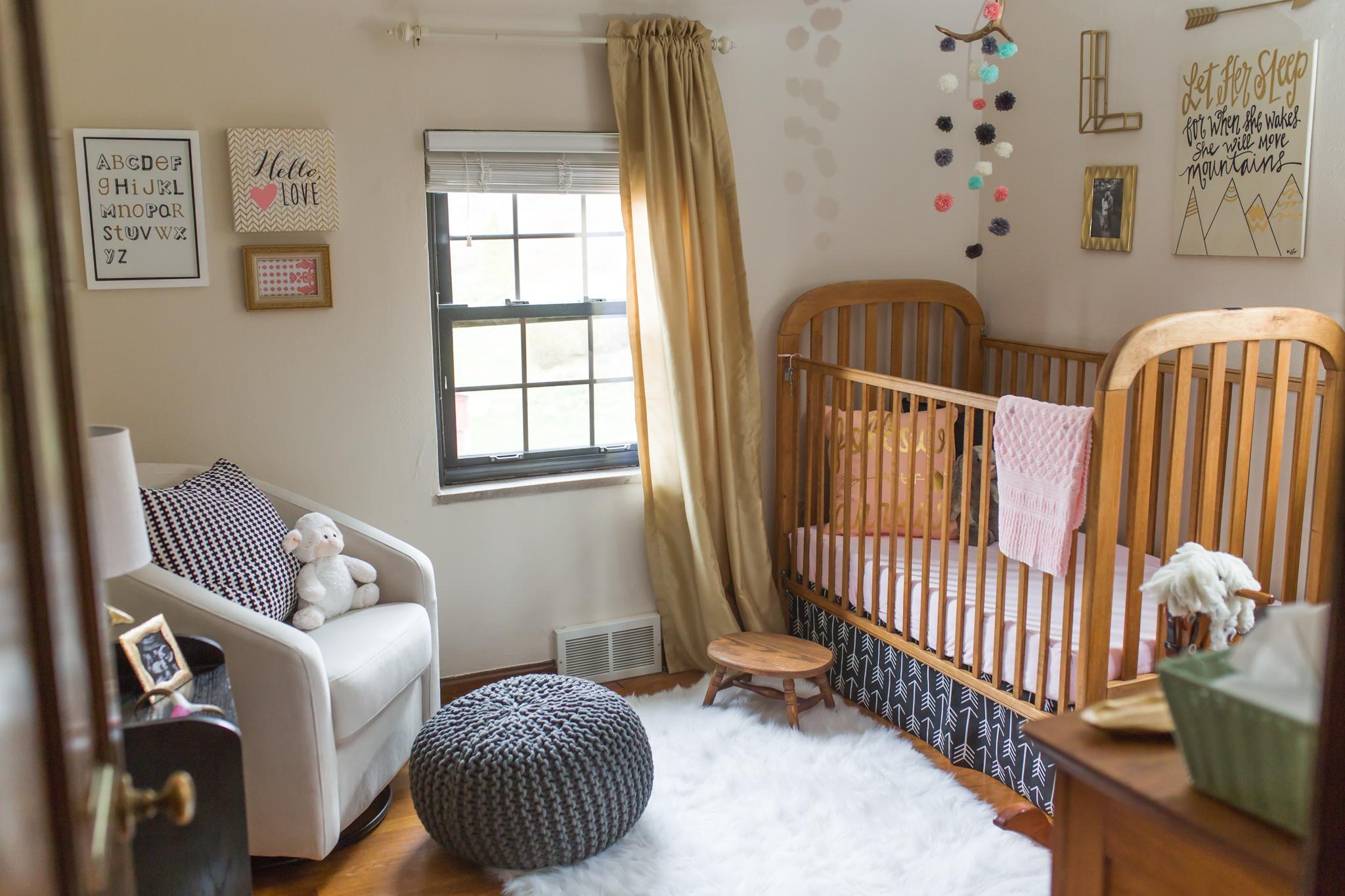 Outdoor-Inspired Nursery