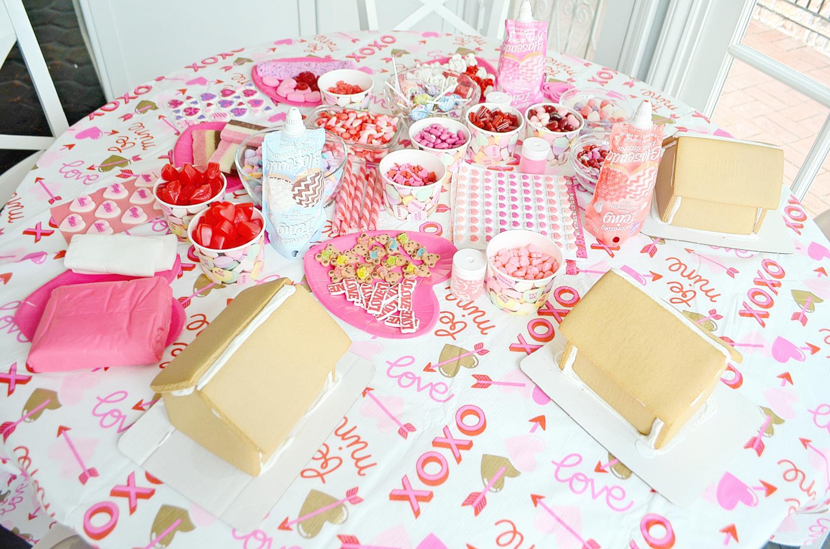 DIY Gingerbread Love Shack Supplies