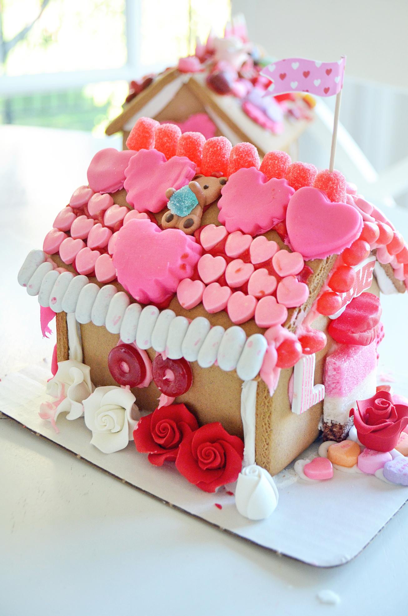 DIY Gingerbread Love Shack