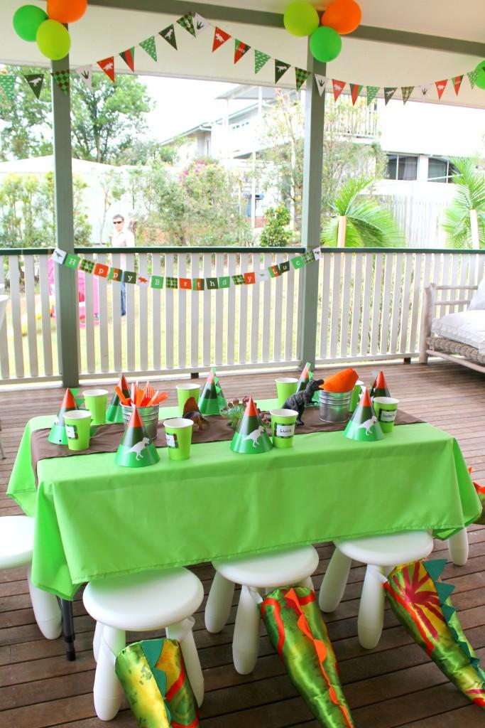 Dinosaur-Themed Birthday Party - Project Nursery