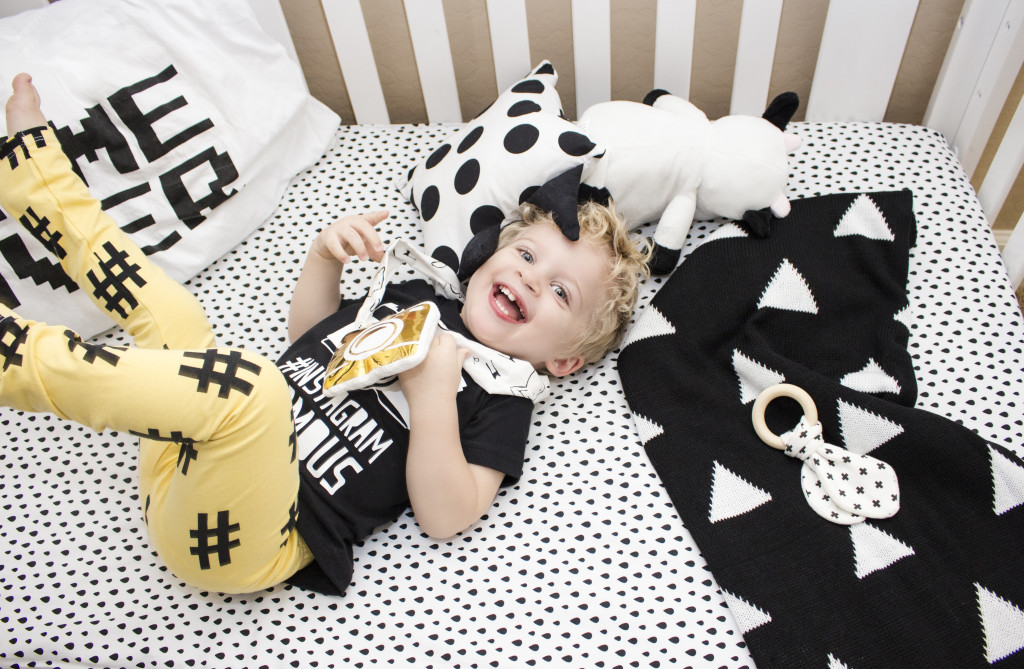 Instagram-Inspired Monochrome Toddler Room