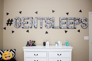 Instagram-Inspired Monochrome Toddler Room