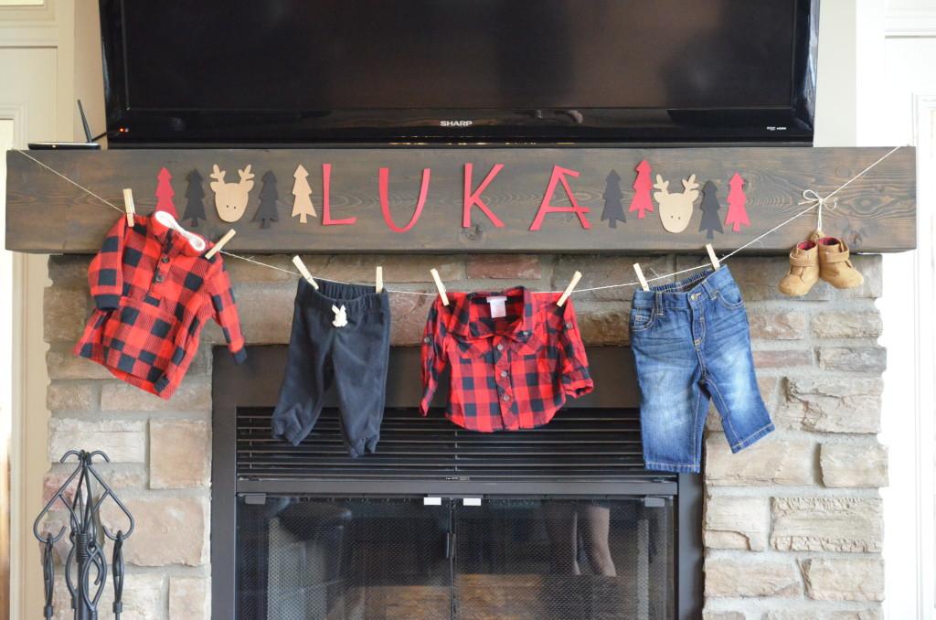 Lumberjack-Themed Baby Shower - Project Nursery