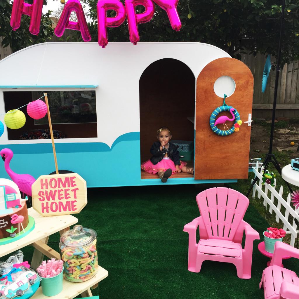 Kitschy Birthday Party - Project Nursery