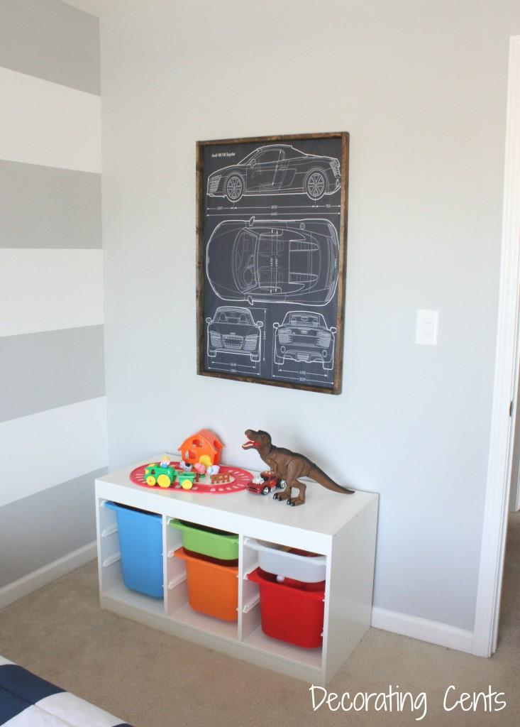 Modern Industrial Boy Room Project Nursery