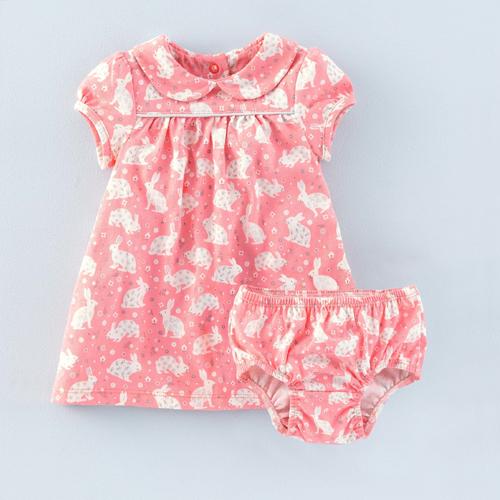 Bunnies Jersey Dress from Mini Boden