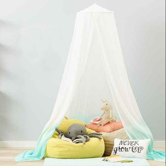 Dip-Dye Bed Canopy