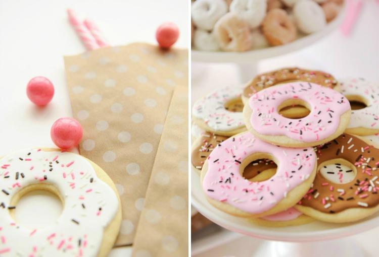 Donut-Themed Kids Party Treats