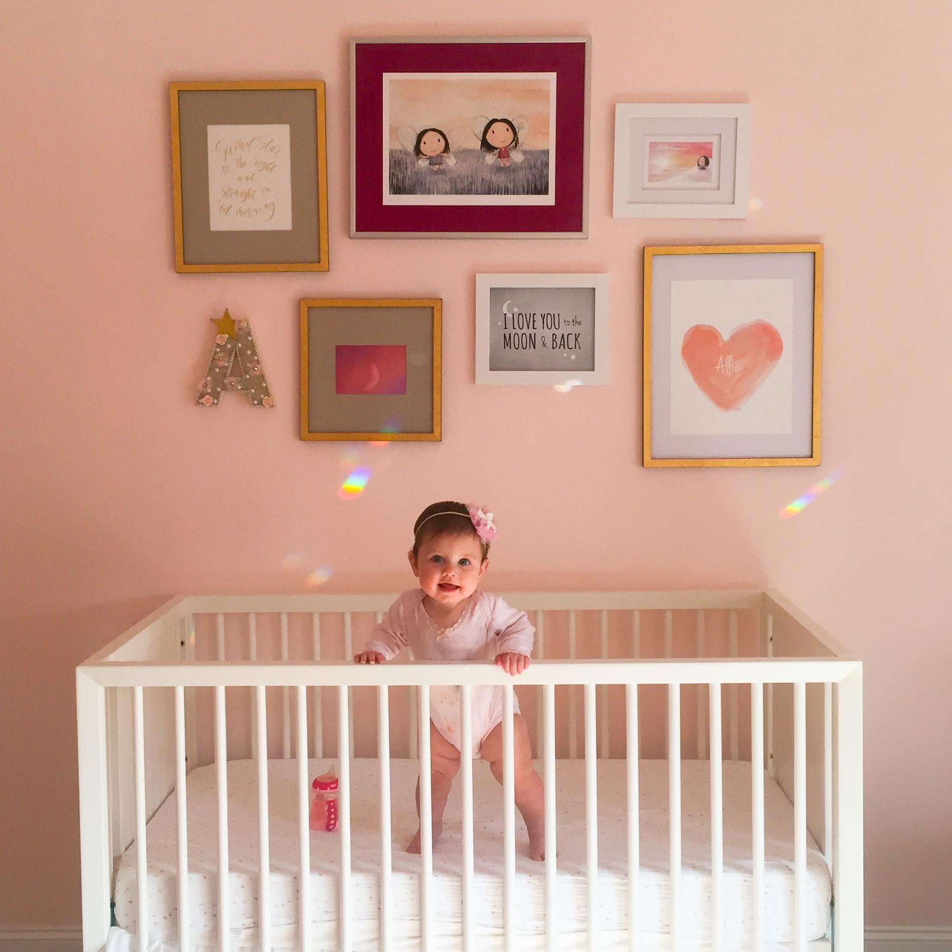 Dreamy Celebrity Nurseries: Allie's Dream Suite Nursery