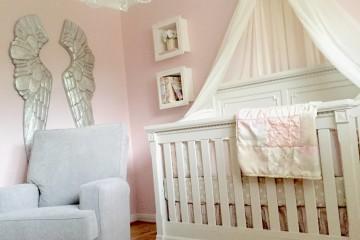 Pink and White Princess Nursery
