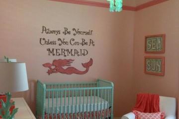 Mermaid Chic Nursery