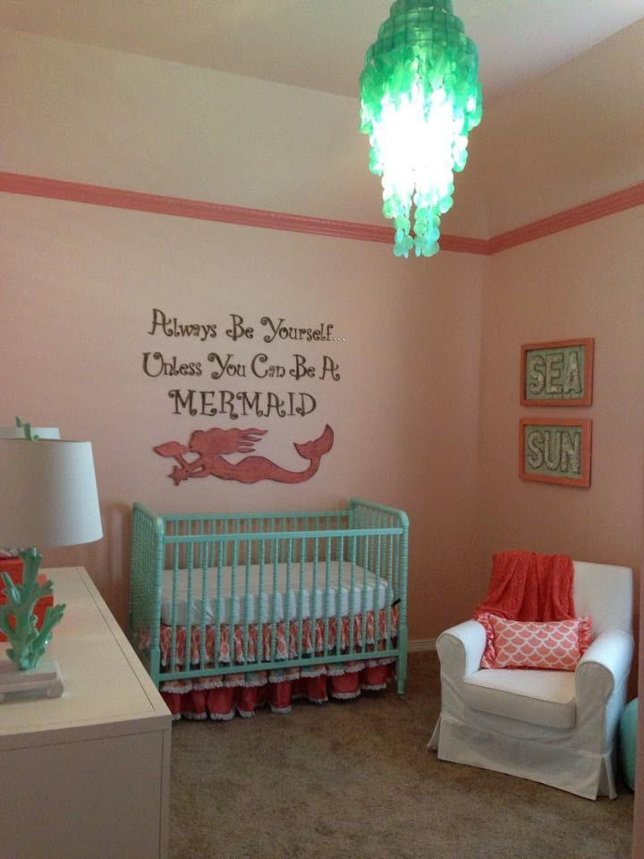 mermaid bedroom ideas mermaid chic nursery project nursery 12385