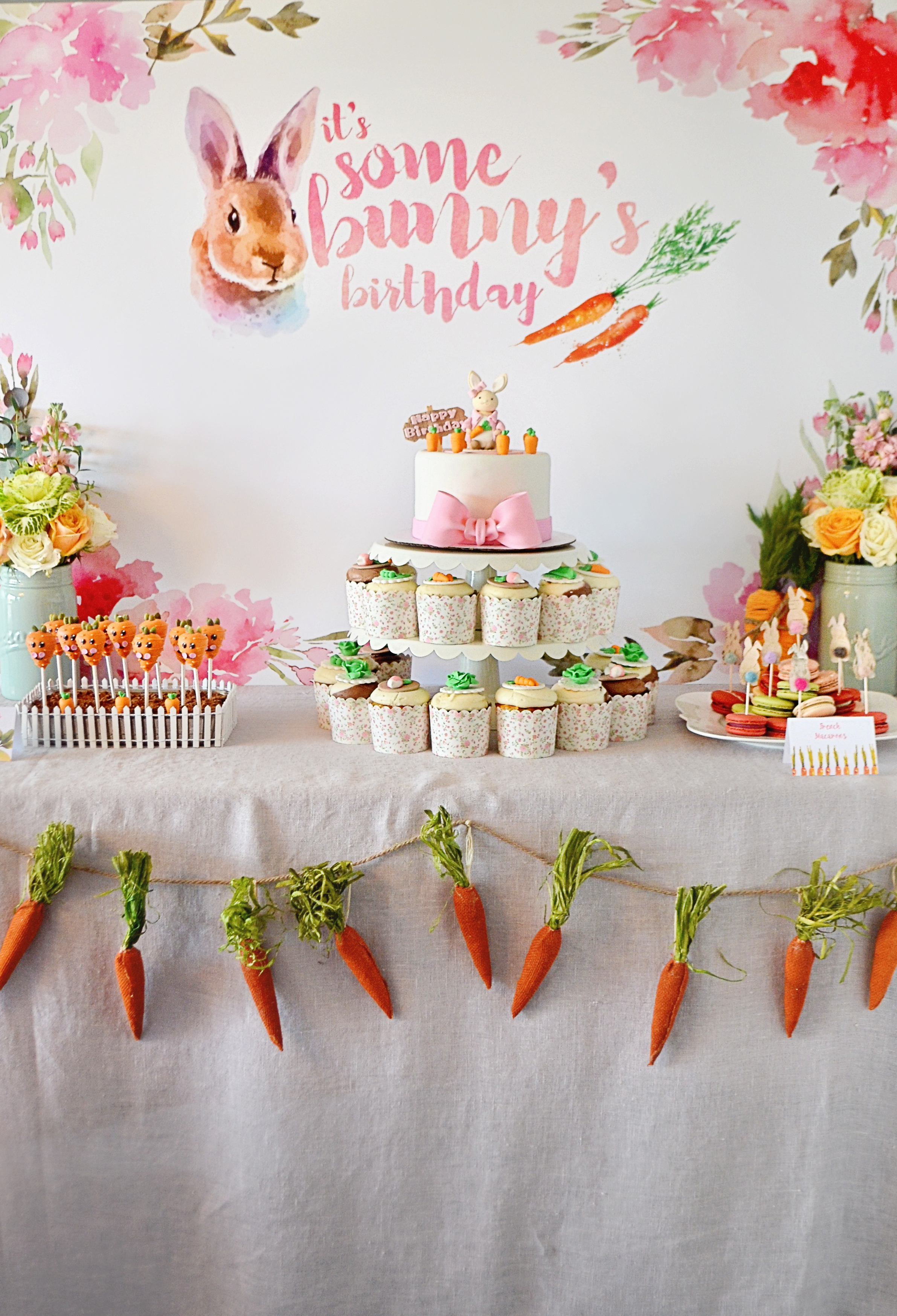 Bunny-Themed Birthday Party - Project Nursery