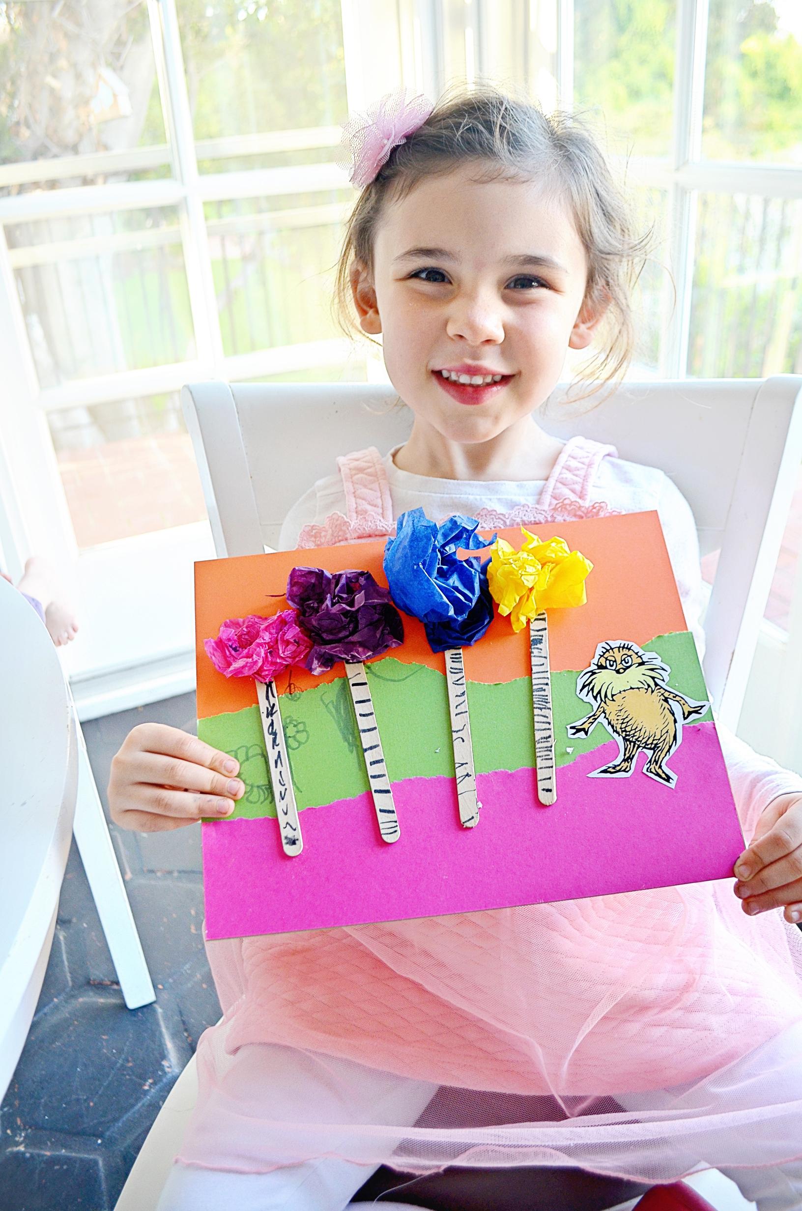 The Lorax Kids Art Project