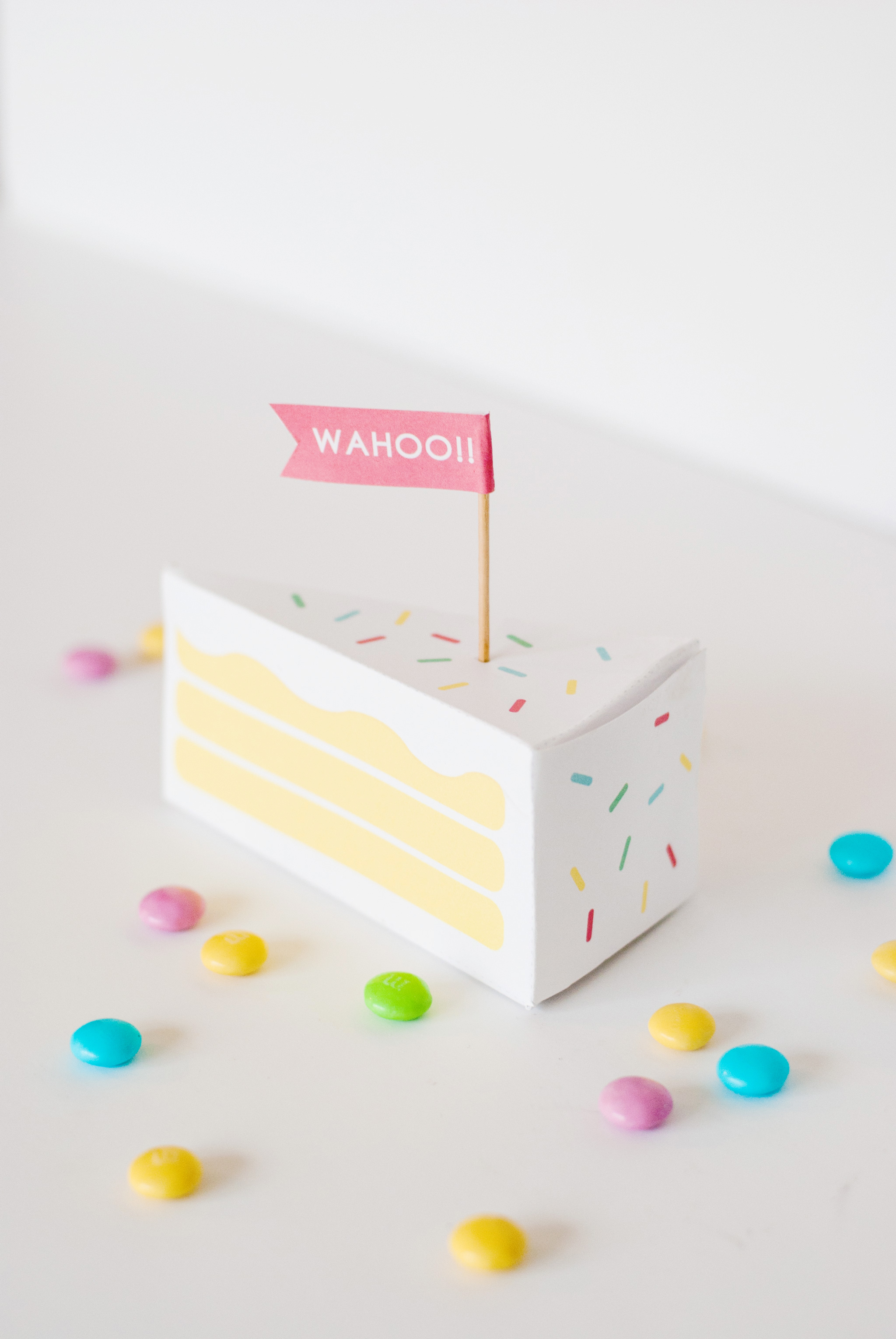 Free Printable Piece of Cake