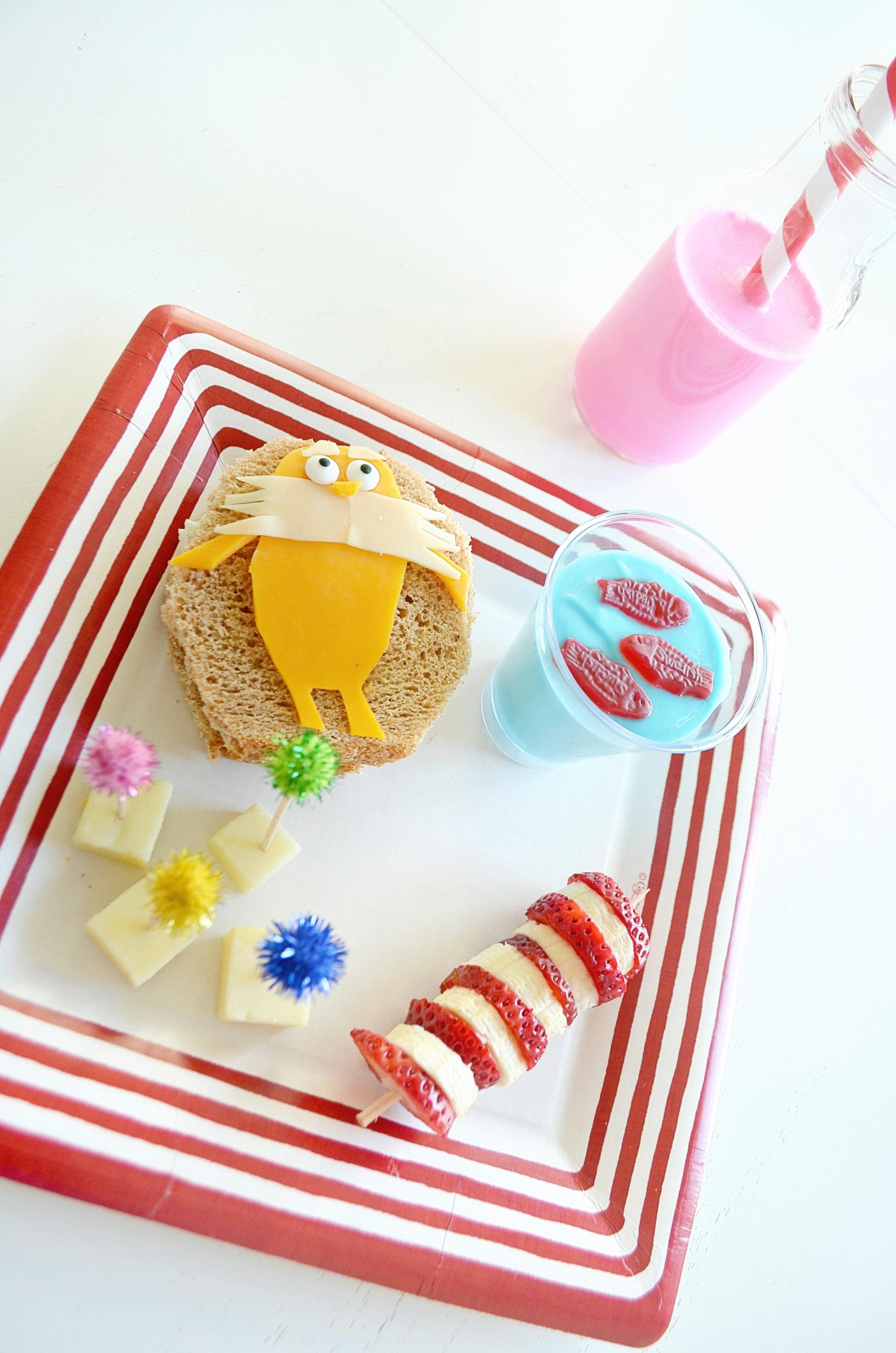 Dr. Seuss-Themed Kids Lunch