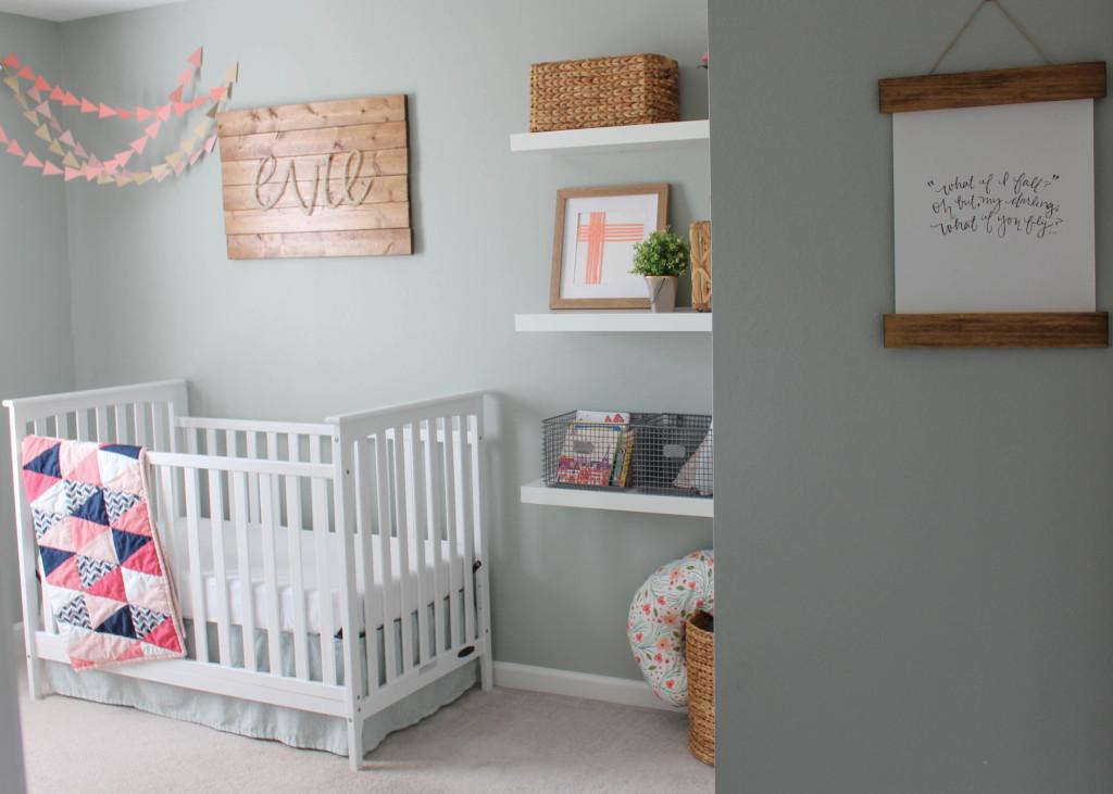 Rustic Glam Girls Nursery - Project Nursery