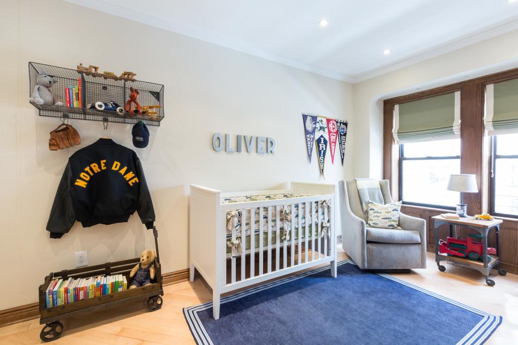 Oliver S Vintage Sports Nursery Project Nursery