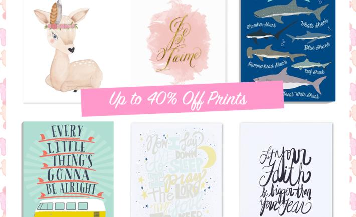 Nursery Print Sale