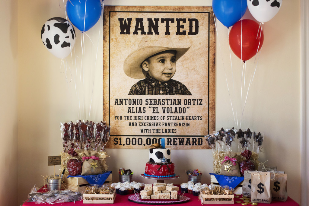Wild Western Cowboy Birthday Party - Project Nursery
