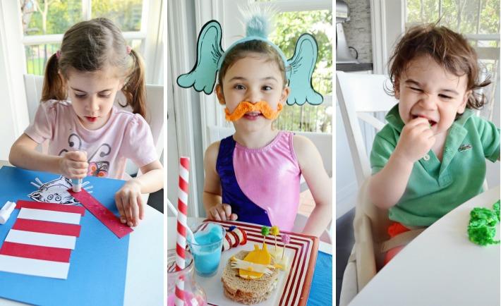 Dr. Seuss-Inspired Kids Activities
