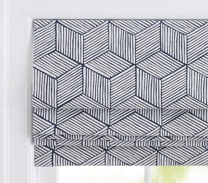 Geometric Roman Shade