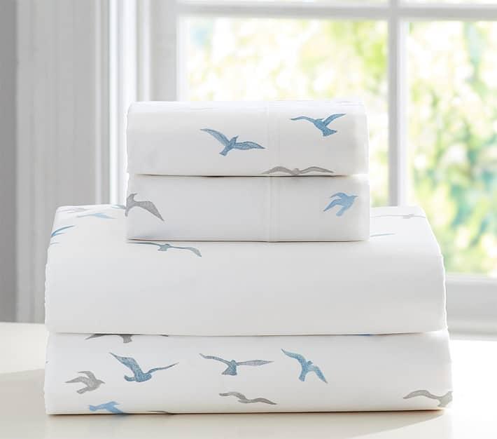 Flight of Birds Sheet Set