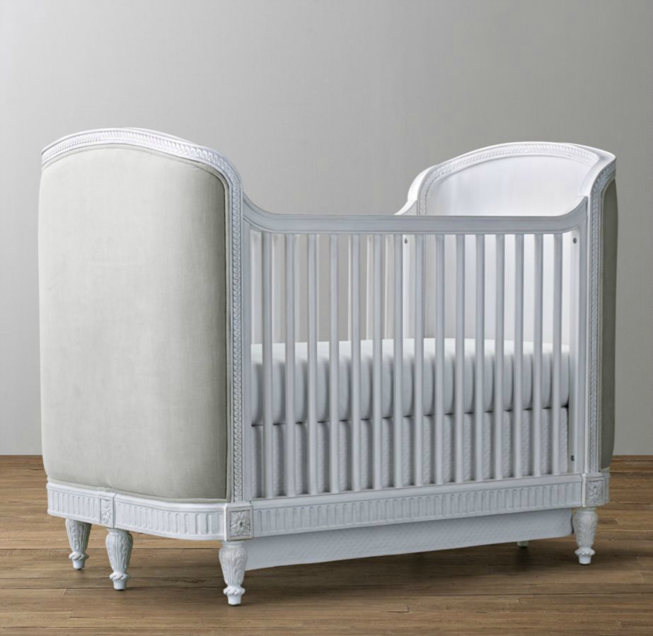 Belle Upholstered Crib by RH Baby & Child