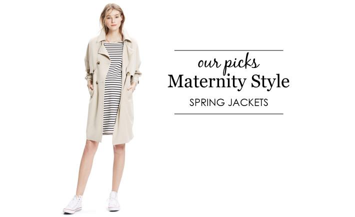 Spring Maternity Jackets - Project Nursery