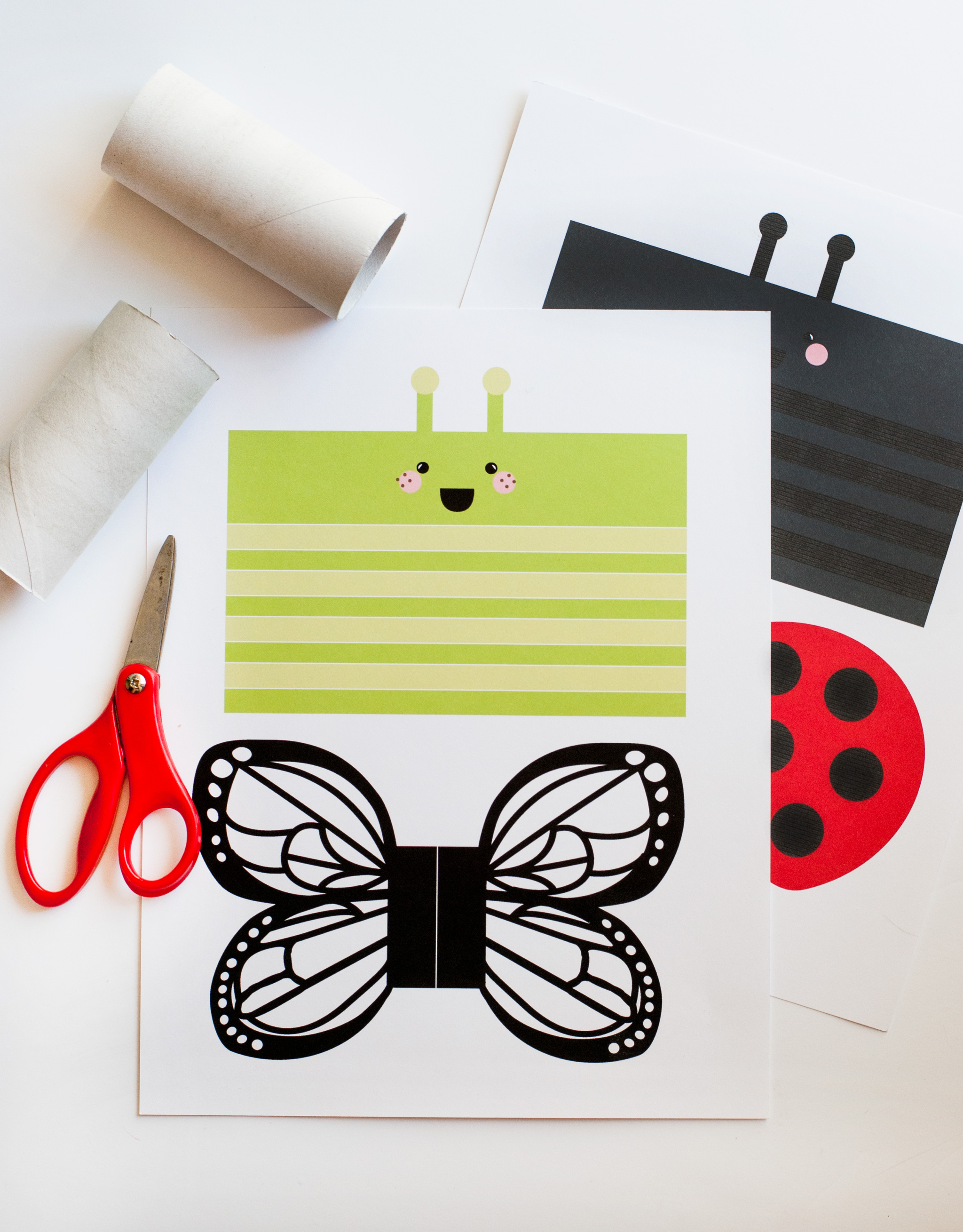 Free Printable Spring Kids Craft Supplies