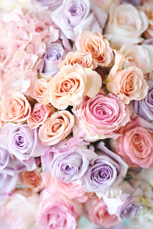 DIY Pastel Floral Centerpiece