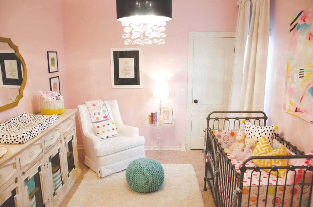 Artful Modern Nursery