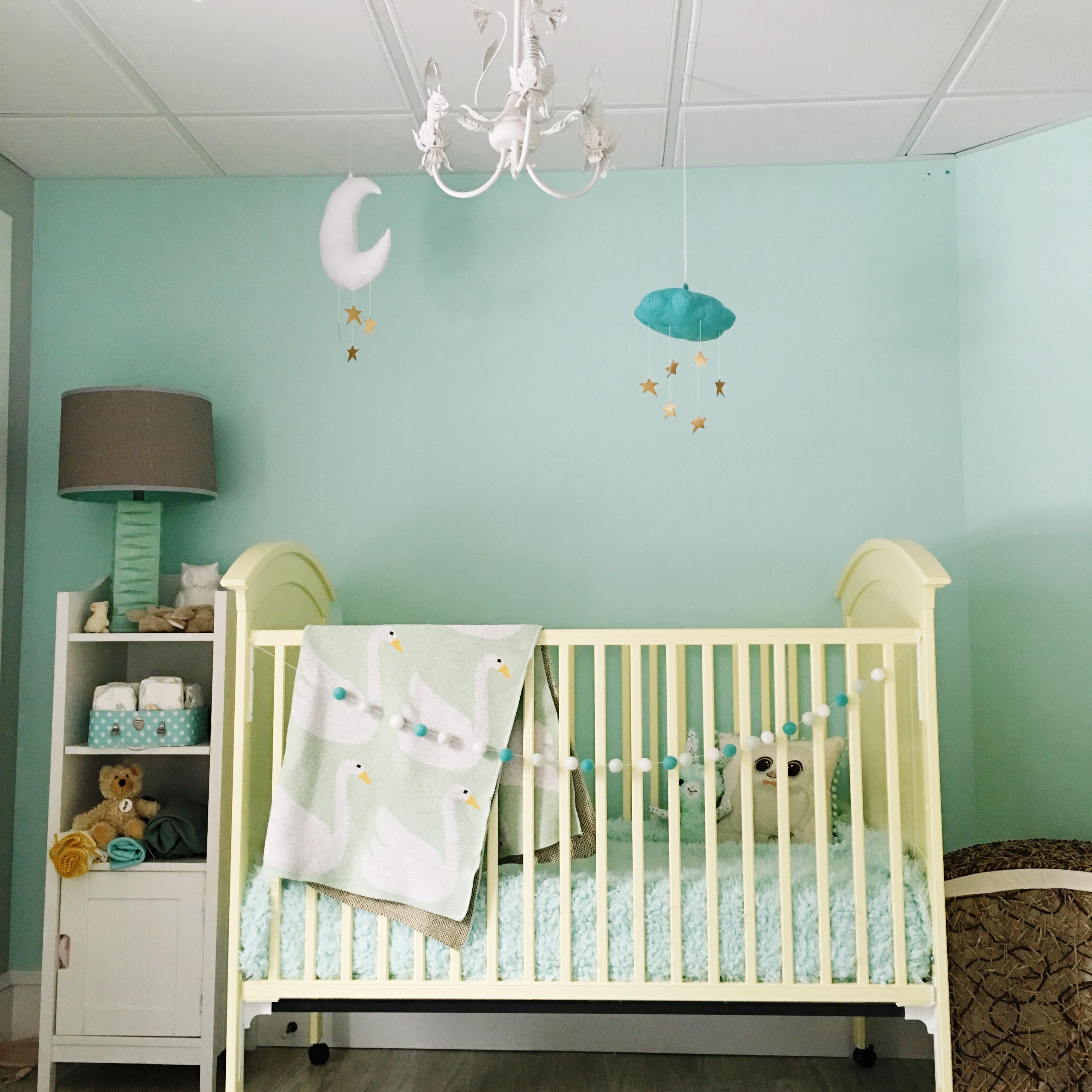 Pastel Woodland Nursery