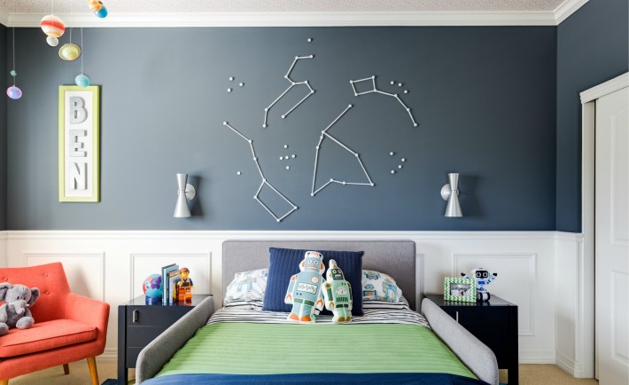 Space-Inspired Big Boy Room