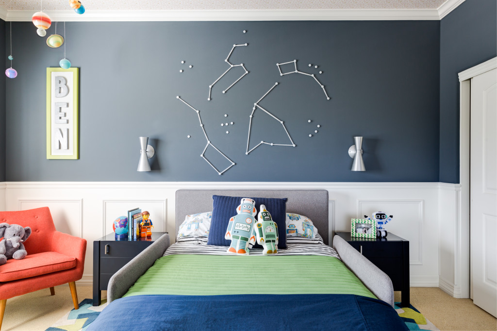 E Inspired Boy Room